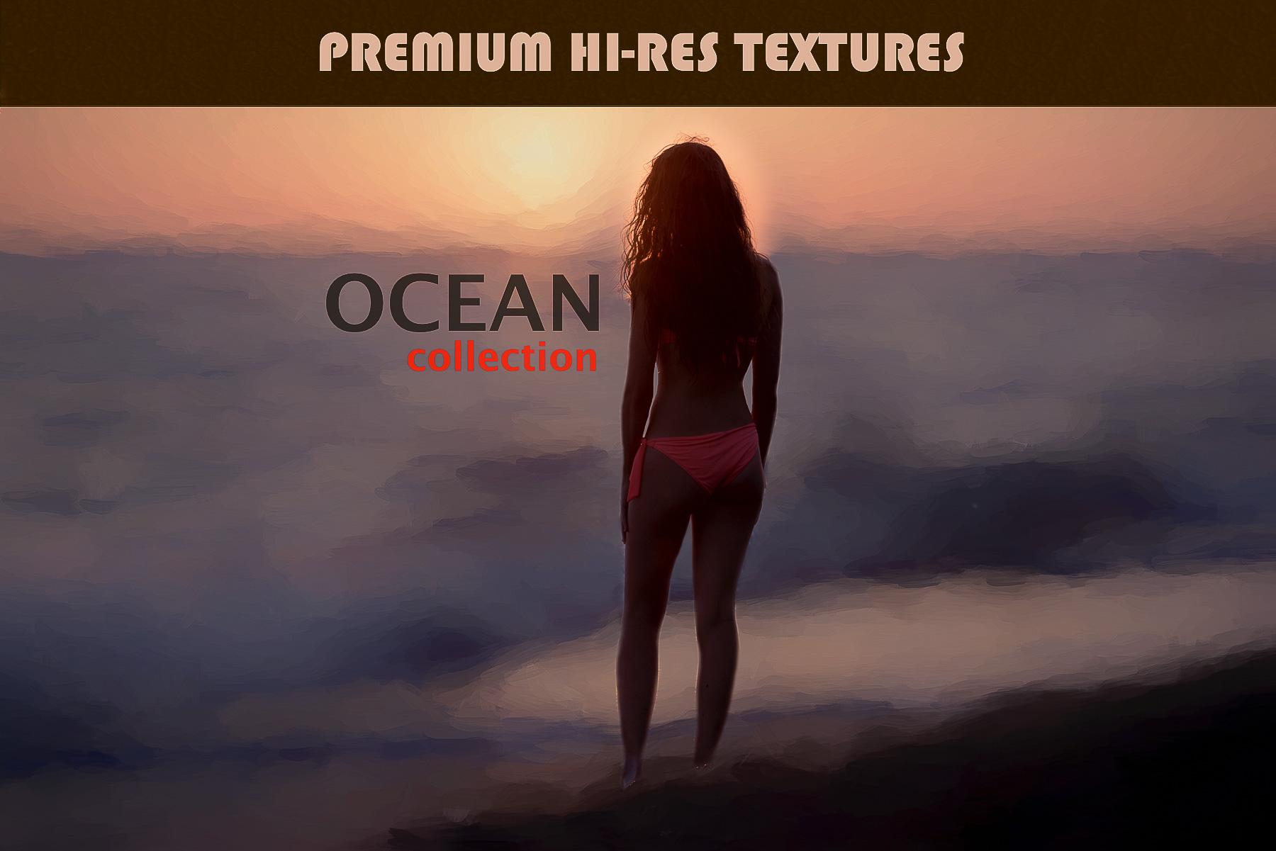 Premium HI-RES Sea Ocean ART Textures