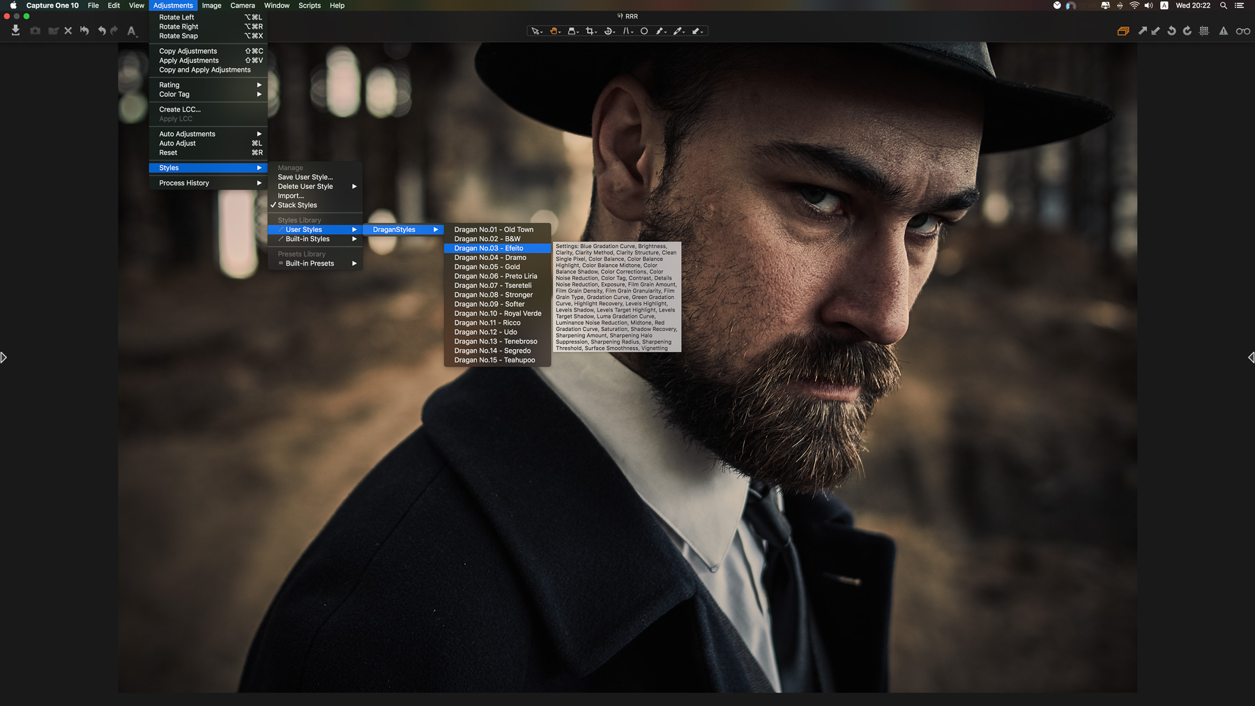 How to Install and Use Capture One styles : Tutorial