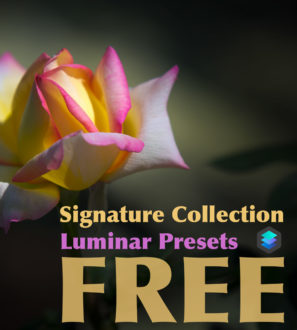 Signature collection - FREE Luminar presets pack from PixaFOTO Marketplace