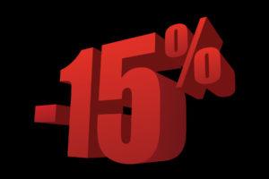 Coupon 15 % OFF from PixaFOTO.com