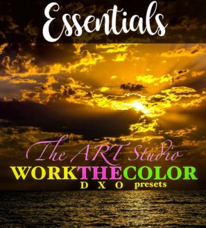 WORKtheCOLOR collection - essential DxO presets from PixaFOTO
