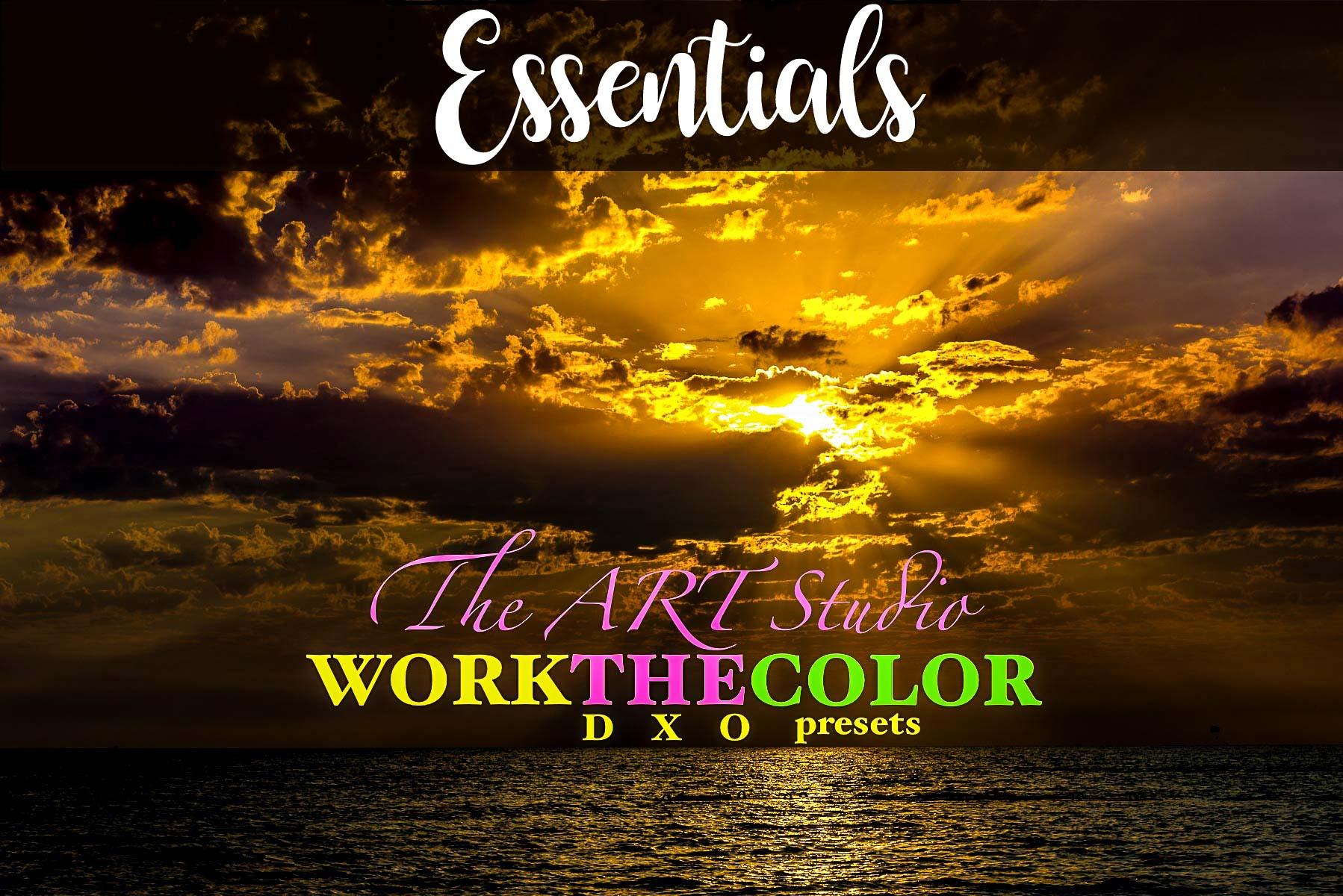WORKtheCOLOR collection - essential DxO presets from PixaFOTO