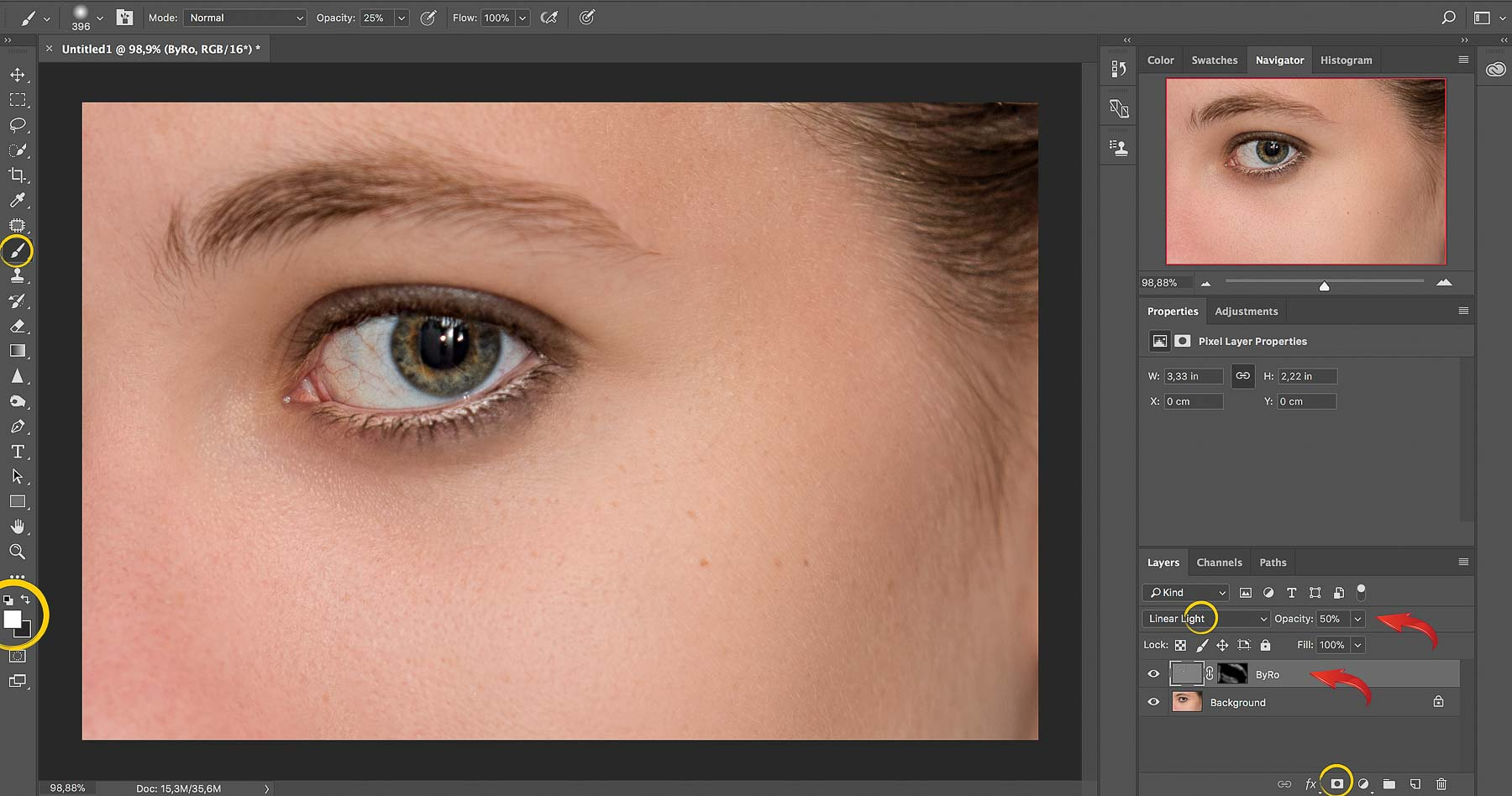 ByRo Method | Photoshop Skin Retouching • Portrait Retouching Workflow