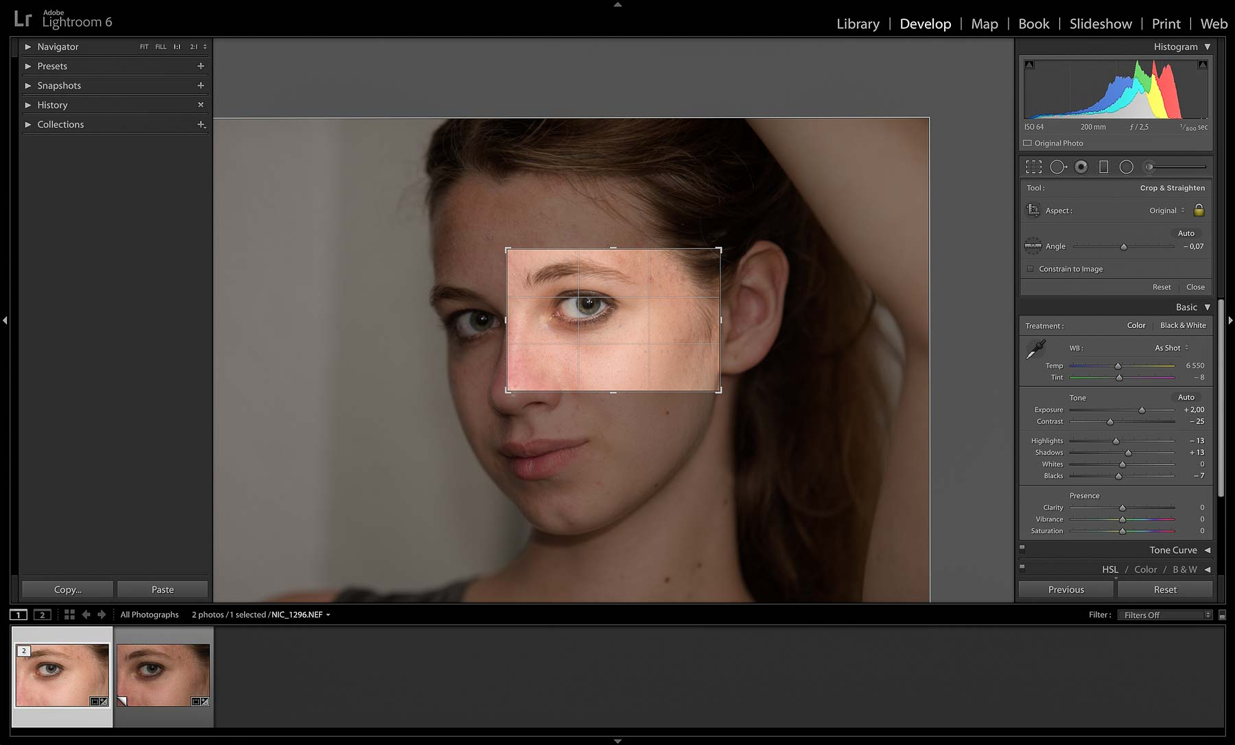 RAW Convertor | Photoshop Skin Retouching • Portrait Retouching Workflow