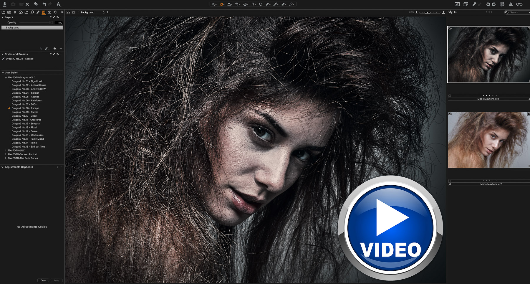 HDR Capture One Film Styles inspired by Dragan - Video