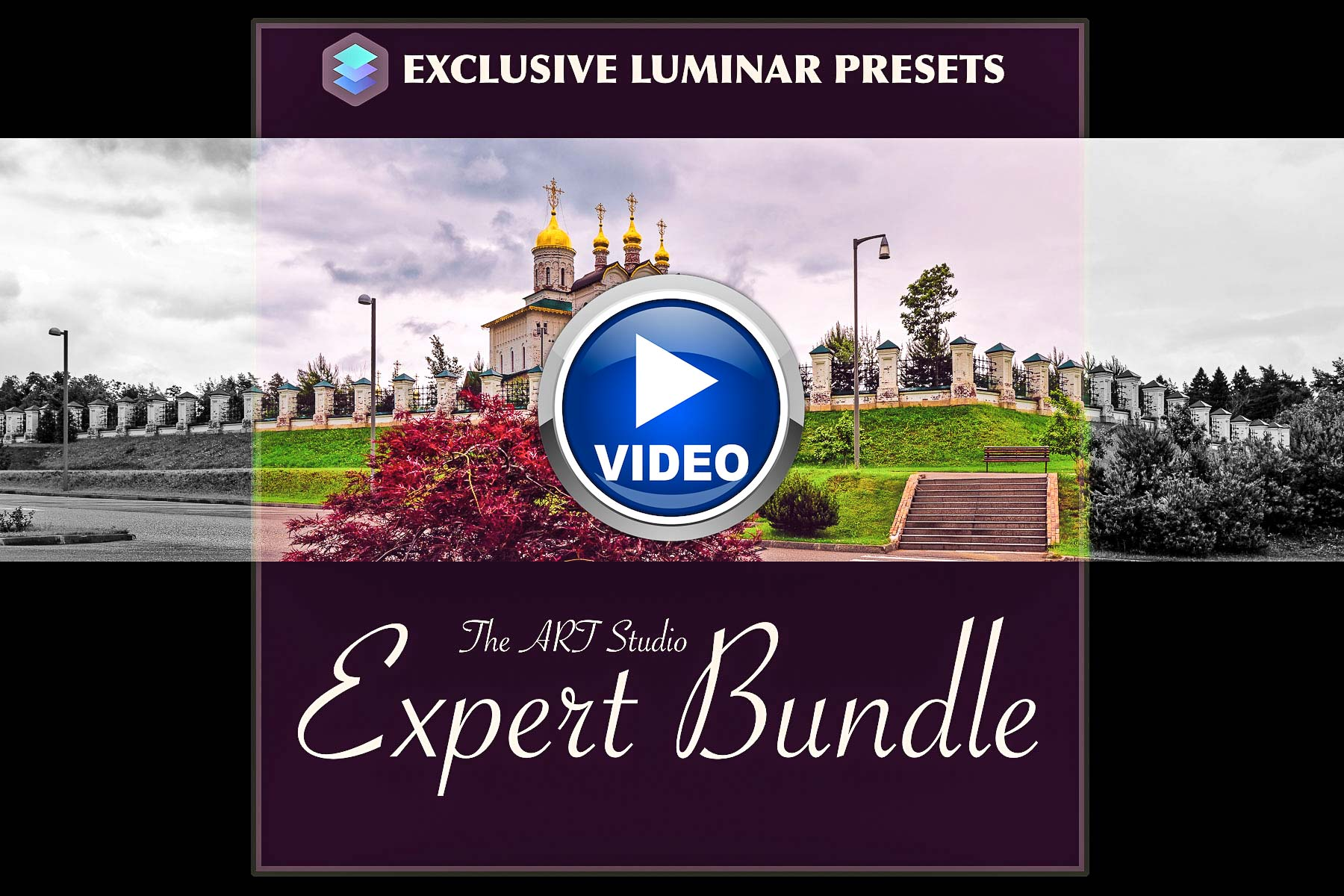 Presenting new premium and free Luminar preset EXPERT pack from PixaFOTO.com
