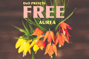 AUREA collection - FREE DxO presets pack from PixaFOTO Marketplace