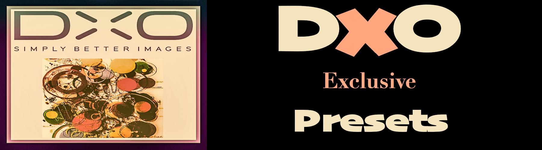Premium and FREE DxO Presets from PixaFOTO.com