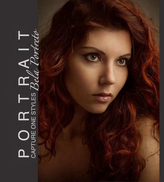 Premium Portrait Capture One styles - Bela Portreto collection from PixaFOTO