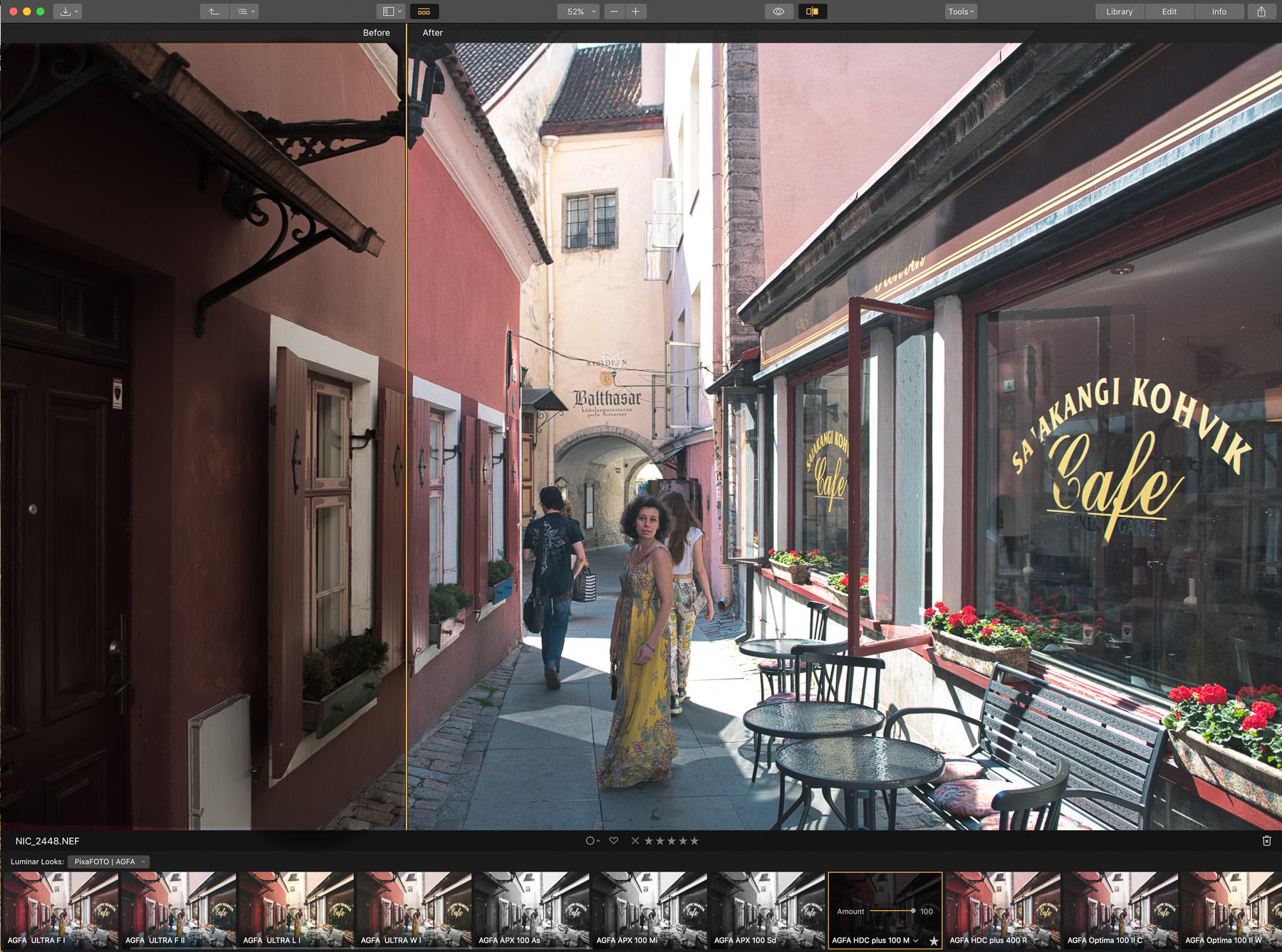 AGFA Collection - Luminar Film Looks from PixaFOTO.com