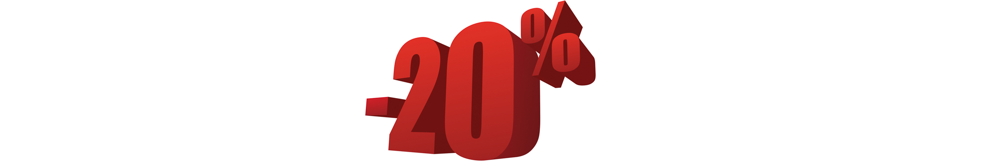 20 % OFF SALE