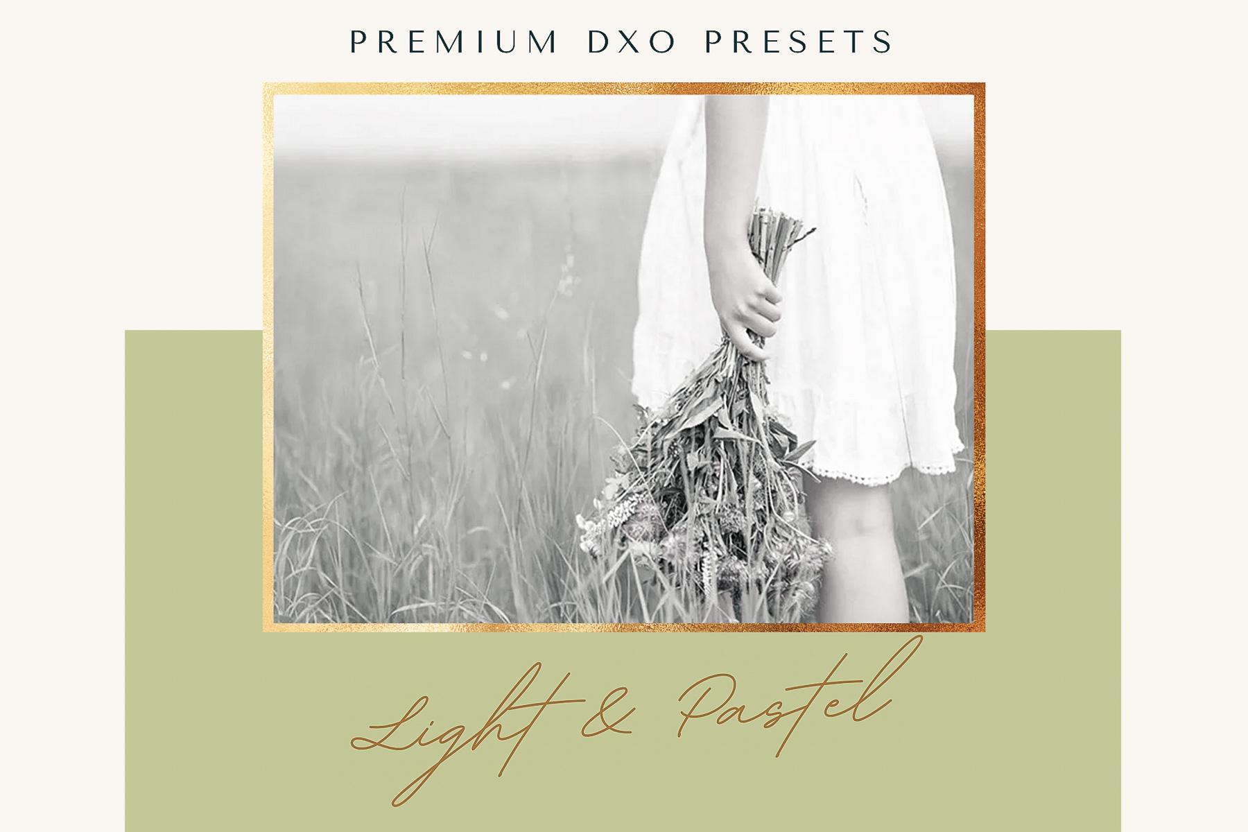 Light & Pastel DxO Presets from PixaFOTO.com