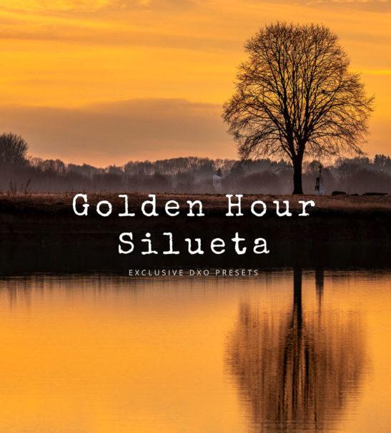 Golden Hour DxO Presets - Silueta Set from PixaFOTO.com
