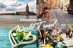LUMINAR looks - World Travel Collection - Stockholm