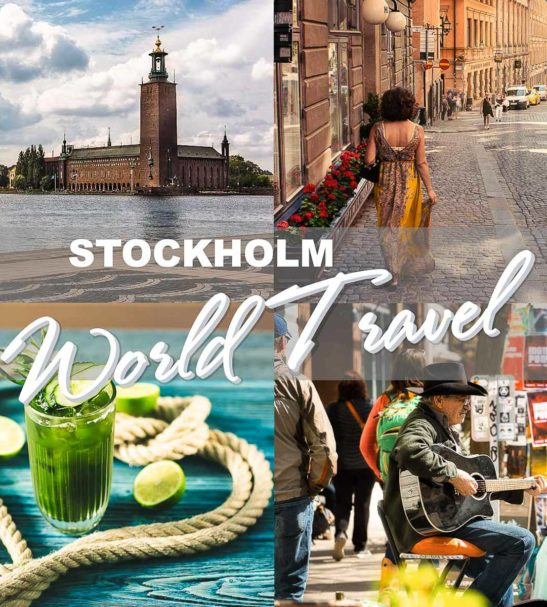 LUMINAR looks - World Travel Collection - Stockholm