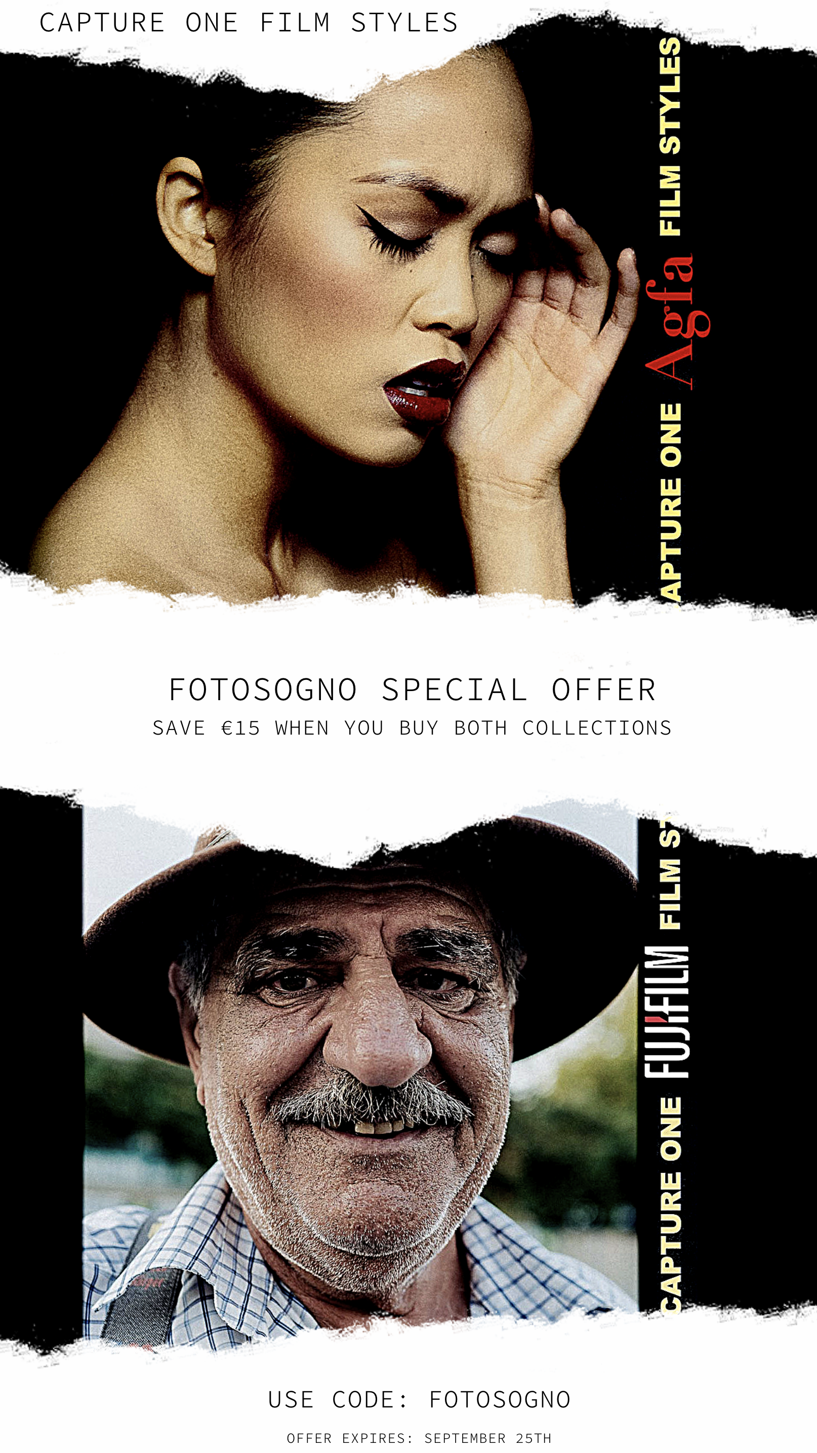 Capture One Film Styles SALE