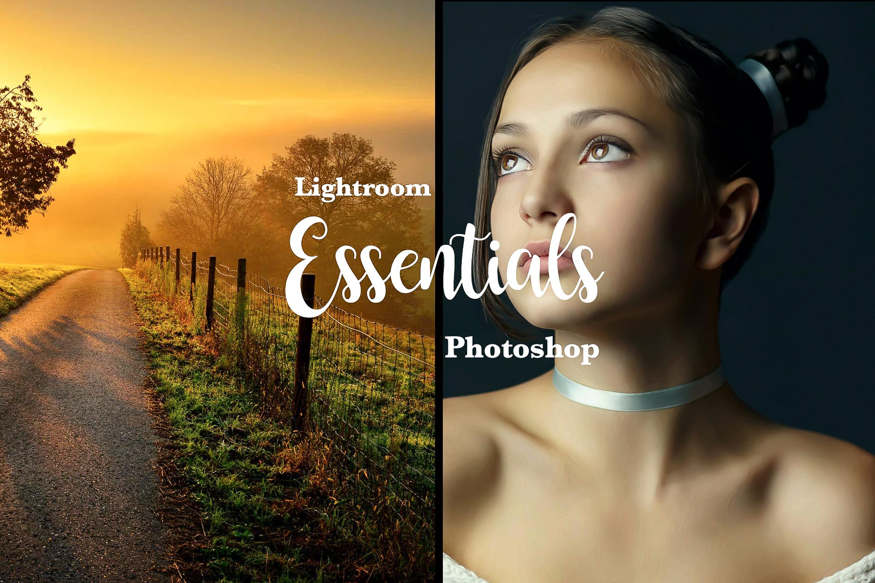 Photoshop Camera RAW & Lightroom Essential Presets - XMP presets from PixaFOTO.com