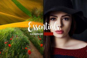 LUMINAR NEO | AI | 4 presets from PixaFOTO.com | Essentials Collection