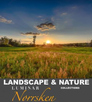 Nature & Landscape Luminar AI & 4 presets from PixaFOTO Marketplace