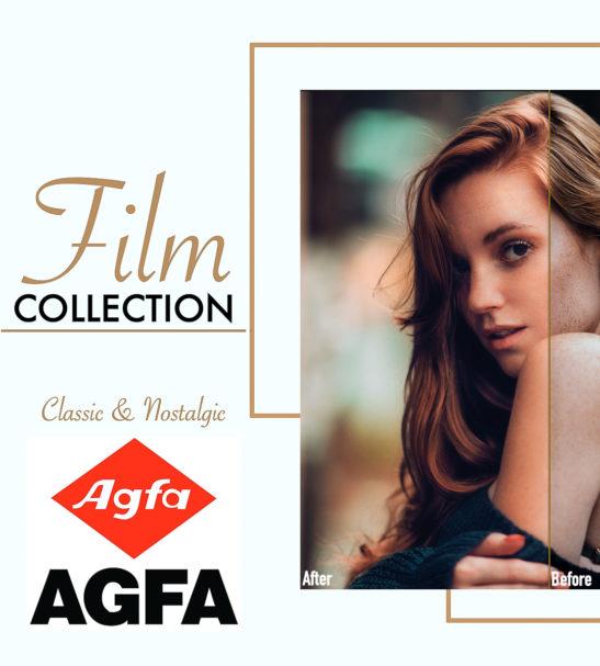 Agfa Film Lightroom   Photoshop XMP Presets from PixaFOTO.com