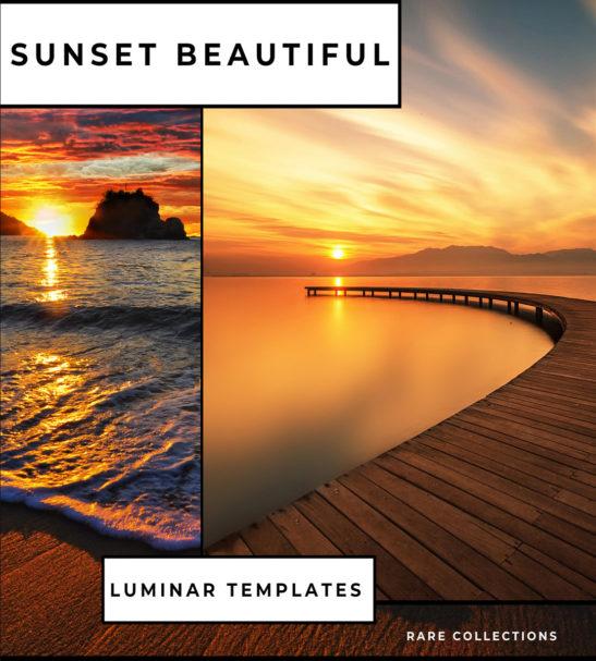 Sunset Luminar NEO   AI Templates