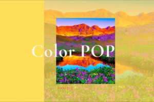 Color POP Luminar 4 Looks from PixaFOTO.com