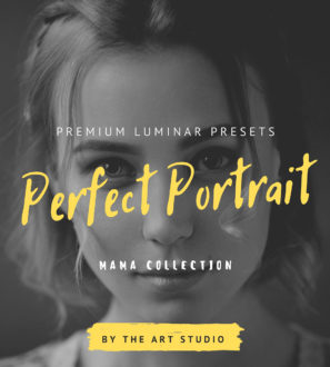 Luminar 4 / AI Perfect PORTRAIT Presets from PixaFOTO.com