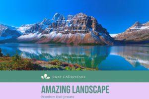 Amazing Landscape DxO Presets from PixaFOTO