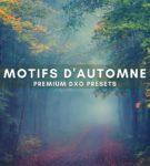 DxO Autumn Presets from PixaFOTO.com