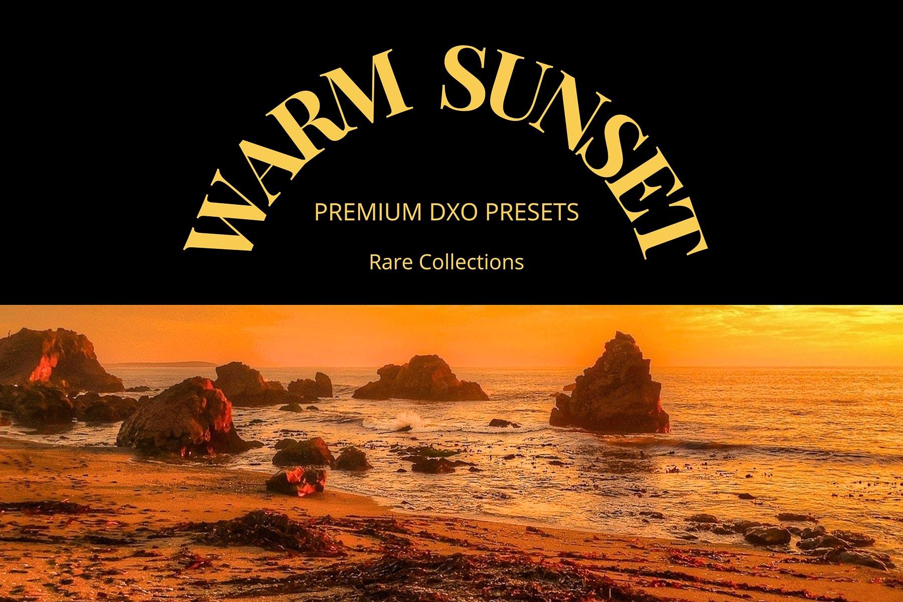DxO Warm Sunset Presets from PixaFOTO.com