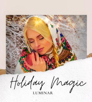 Luminar NEO | AI Holiday Magic Templates from PixaFOTO.com
