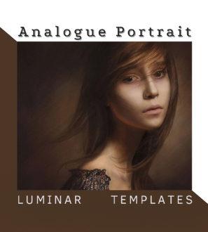 Analogue Portrait LUMINAR NEO | AI Templates from PixaFOTO.com