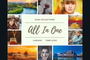 ALL IN ONE LUMINAR NEO | AI TEMPLATES FROM PixaFOTO.com