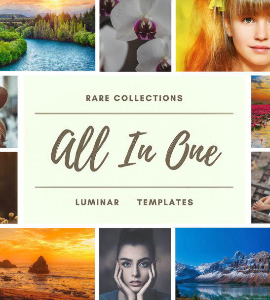 ALL IN ONE LUMINAR NEO   AI TEMPLATES FROM PixaFOTO.com