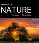 Awesome NATURE Luminar NEO | AI Templates Set