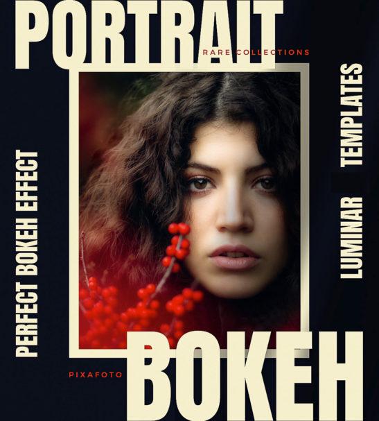 Luminar NEO | AI - Portrait Bokeh Templates from PixaFOTO.com